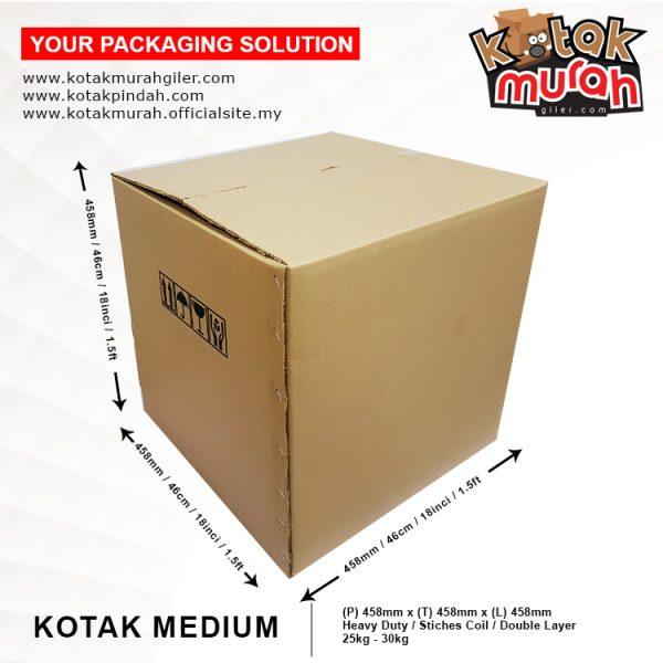 kotak medium pindah rumah
