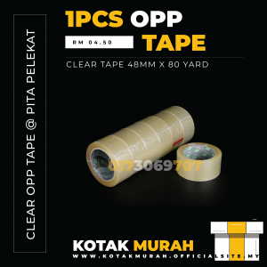 OPP Tape 48mm x 80yard